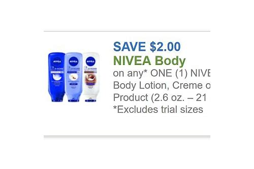 nivea lotion coupons 2018