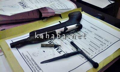 Kunci Leter T todong aparat dengan senpi pemuda tolo uwi diciduk kabar harian bima