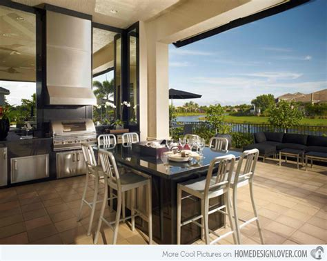awesome kitchen designs 15 awesome contemporary outdoor kitchen designs