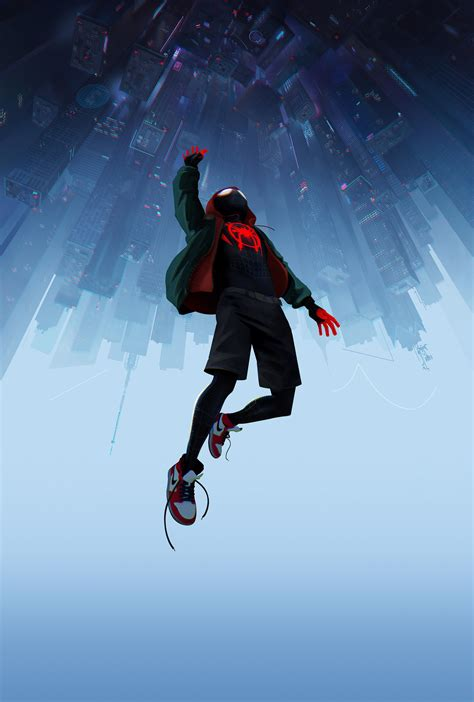 voir 4k spider man new generation r e g a r d e r 2019 film textless spider man into the spider verse poster