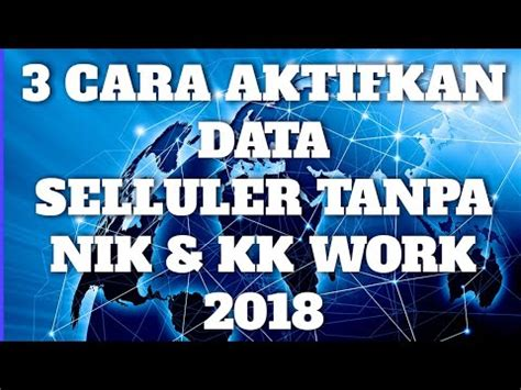 cara aktifkan midnight 2018 3 cara aktifkan data selluler tanpa nik kk 2018 work