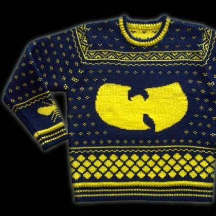 wu tang knit sweater buy the wu tang clan sweater consequence of sound