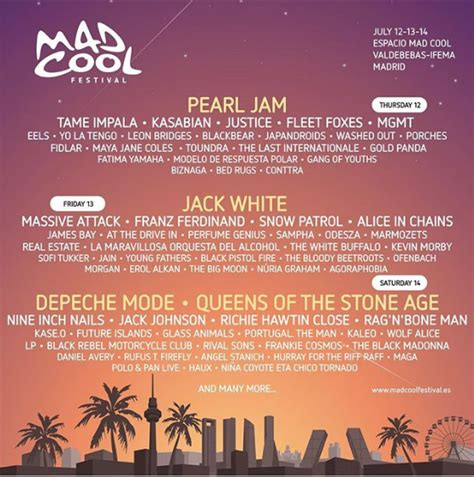 mad coll mad cool festival 2018 lineup stereogum