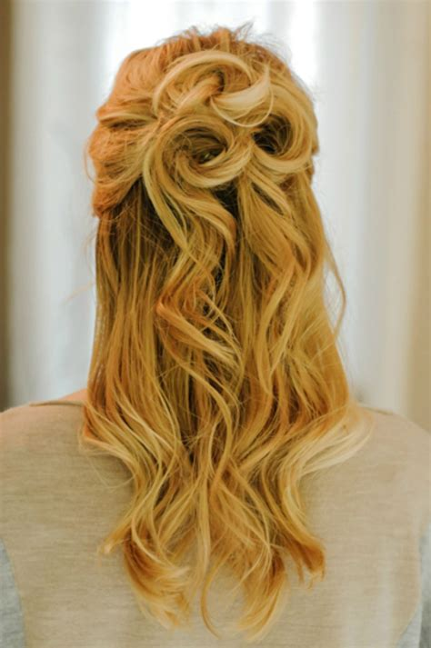 updo hairstyles half up half down half updo hairstyles for prom 21 gorgeous half up half