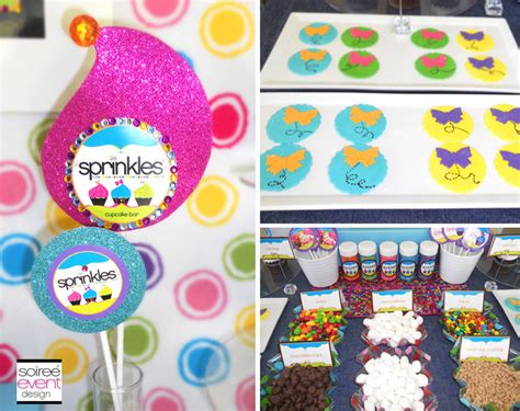 cupcake bar toppings 6 tips to setting up a quot sprinkles quot cupcake decorating bar soiree event design