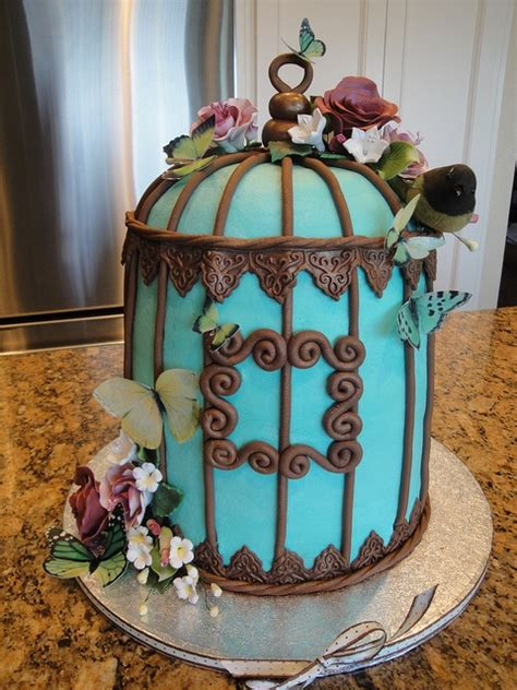 beautiful bird cage and aqua 17 best images about 96th birthday on great