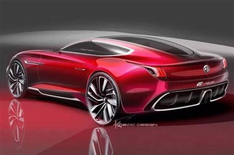 supercar concept mg e motion electric supercar concept revealed just