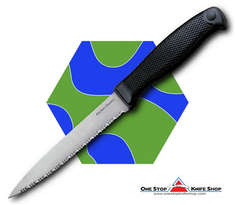 cold steel kitchen knives discontinued cold steel 59ksz steak knife kitchen classics