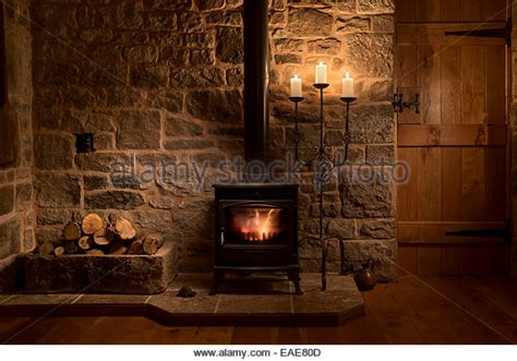 Living Rooms With Wood Burning Stoves Wood Burning Stove House Stock Photos Wood Burning Stove House Stock Images Alamy
