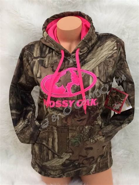 mossy oak hoodie pink new style 2014 womens mossy oak camo pink accents