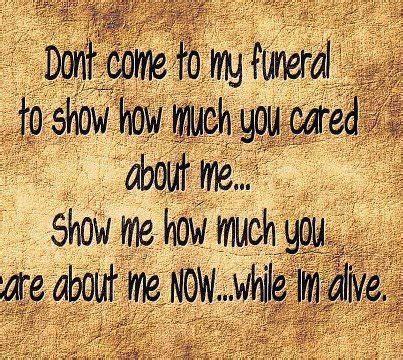 show u care quotes