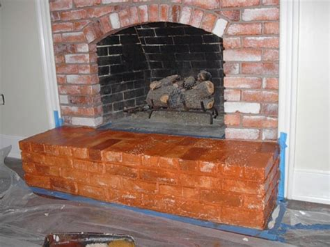Faux Painting Fireplace Brick by Faux Painting Brick Fireplaces Ideas Home Interior