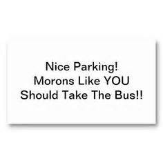 learn to park business cards 1000 images about learn to park business cards on