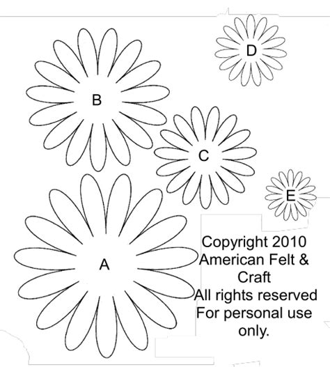 printable daisies flowers gerbera daisy template printables and templates