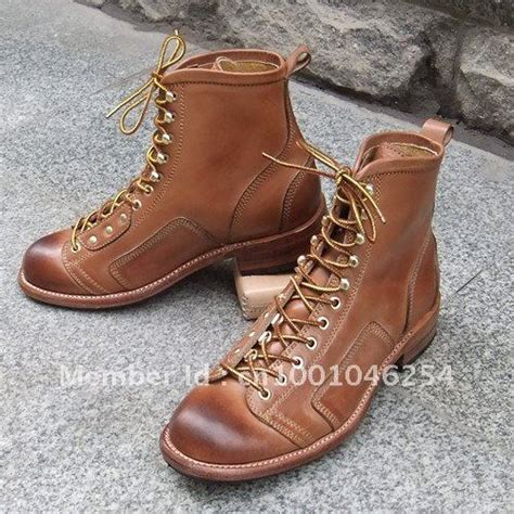 Handmade Mens Boots - handmade custom s motorcycle boots in motocycle boots