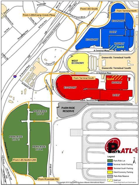 airport in atlanta map atlanta airport parking map atlanta hartsfield airport