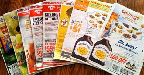 sunday coupons inserts for sale
