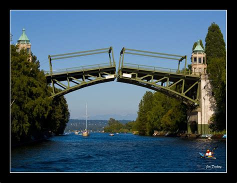 seattle map bridge panoramio photo of montlake cut draw bridge seattle