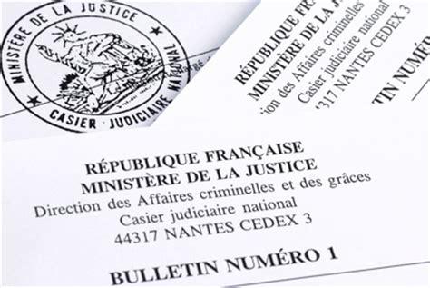 Lettre Demande De Casier Judiciaire N 3 Extrait De Casier Judiciaire