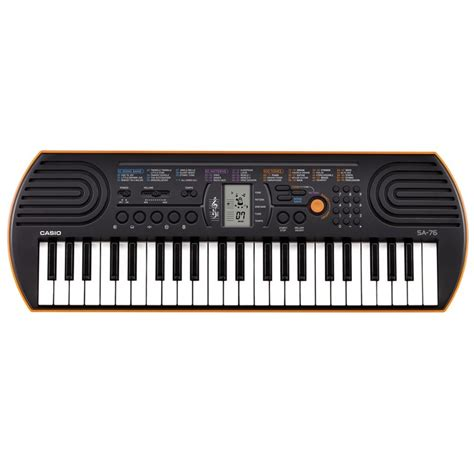 Keyboard Casio Mini casio casio sa76 44 key mini keyboard casio 100735 dig p k home keyboards portable