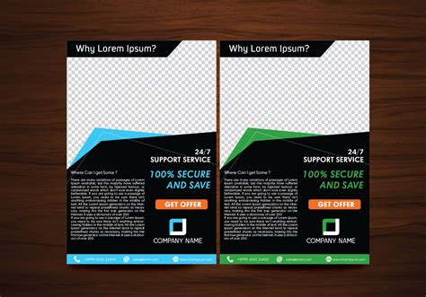 layout template free download vector flyer design layout template vector download free