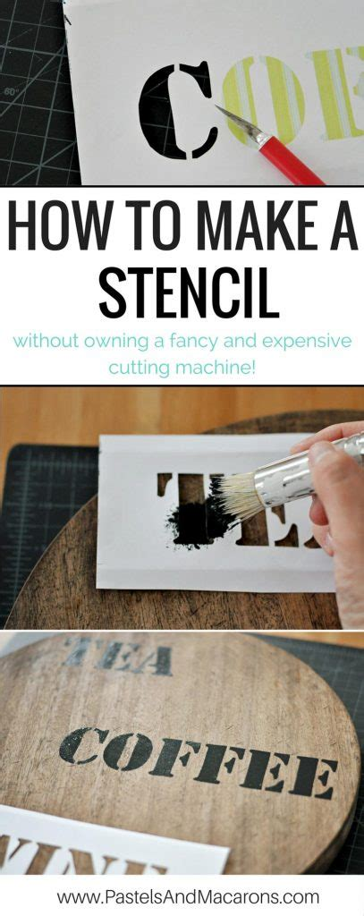 How To Make A Stencil Without Transfer Paper - the best image transfer technique using paint on furniture