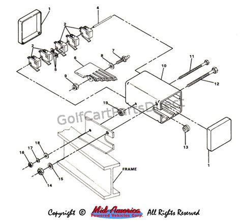 speed switch assy club car parts accessories
