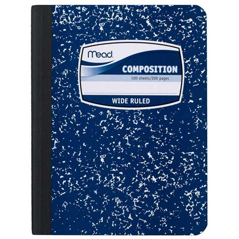 i always give 100 at work lined notebook books composition book by mead wide ruled 100