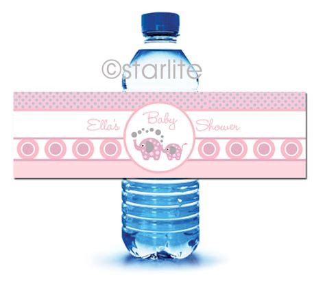 Water Bottle Baby Shower Labels Template 10 Best Images Of Printable Labels For Water Bottles At Baby Shower Free Printable Baby Shower