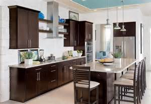 Coffee Color Kitchen Cabinets Learning Position From Pictures Of Espresso Kitchen Cabinets With White Appliances Iecob Info
