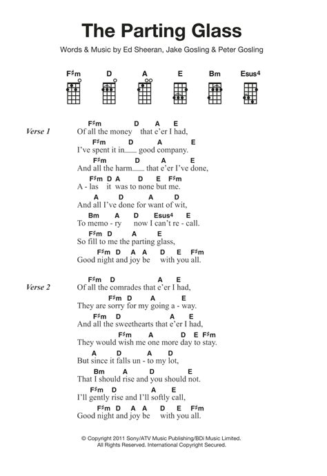 download mp3 ed sheeran the parting glass the parting glass by ed sheeran ukulele guitar instructor