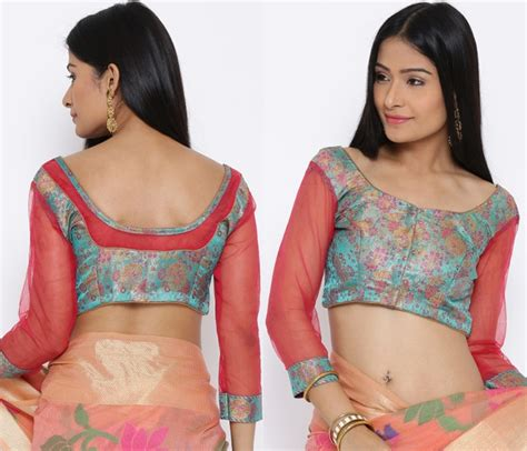 Blouse Elvira Blouse Boordir blouse back neck designs with borders 10 creative ideas keep me stylish