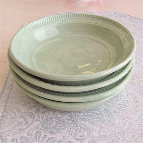Handmade Pasta Bowls - four pasta bowls ceramic spaghettie bowls by sharsartpottery