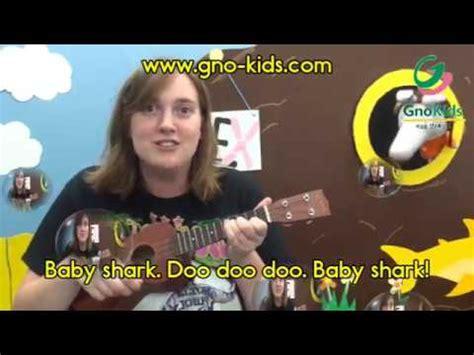 baby shark ukulele baby shark ukulele kids song gnokids chords chordify