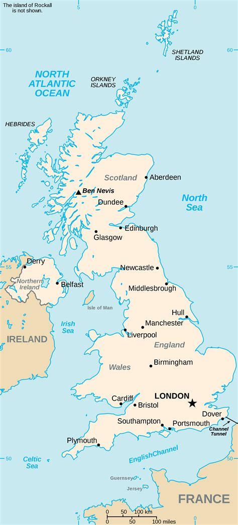 uk diagram map uk map of