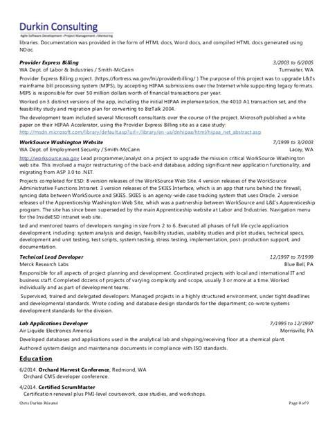 Resume Expert by Chris Durkin Resume Expert Net Consultant 18 Years