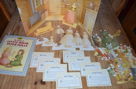 little house paper dolls review my book of little house paper dolls angelicscalliwags