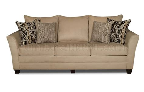jute sofa beige jute microfiber modern sofa loveseat set w options