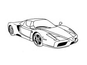 How To Draw A Enzo Speed Drawing Enzo