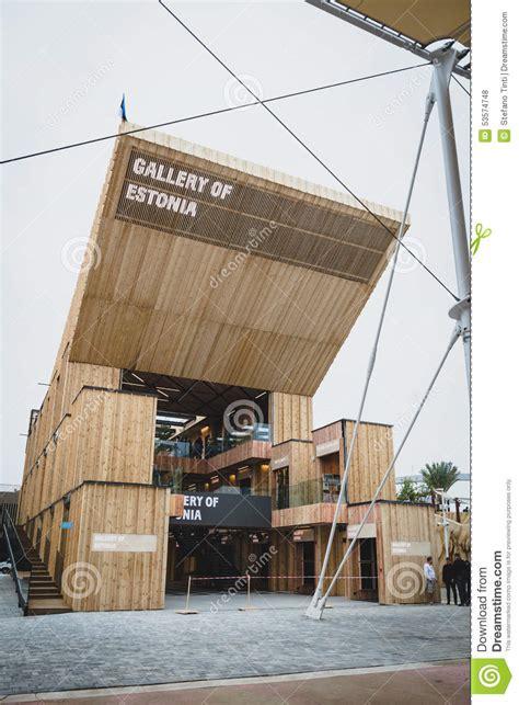 pavillon ausstellung estland pavillon an ausstellung 2015 in mailand italien