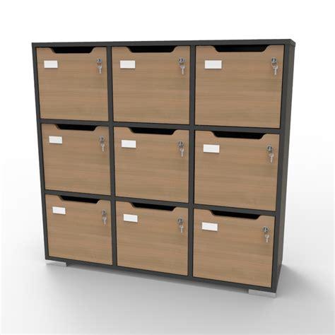 Meuble 3 Cases 209 meuble casier en bois meuble vestiaire caseo