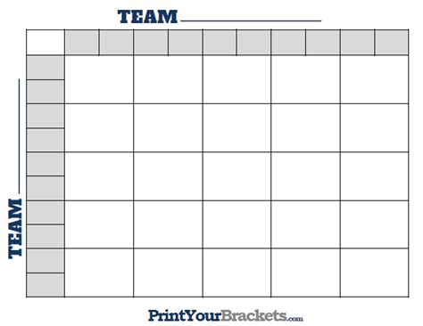 Football Square Board Template by Printable Ncaa Football Bcs Squares 25 Grid Office Pool