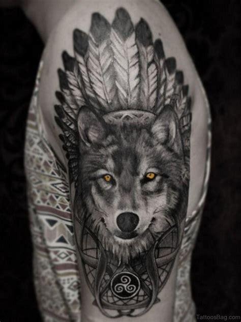 wolf tattoo 51 wolf tattoos on shoulder