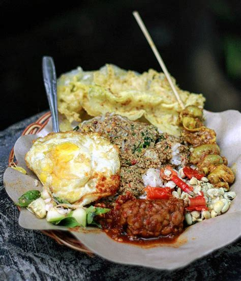 resep pecel tumpang kuliner khas kediri  legendaris