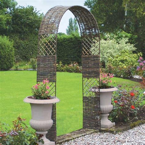 Arches Garden Of Rowlinson Willow Cottage Arch