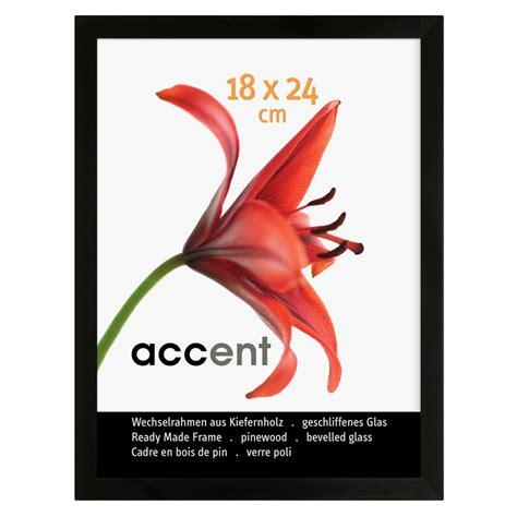 cornice 30x40 accent cornice in legno wood 30x40 cm nero vetro