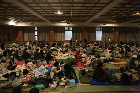earthquake evacuation 7 3 magnitude earthquake hits japan after earlier kills 9