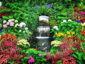 Nice Flower Garden Beautiful Garden Flowers Wallpapers Nice Pics Gallery