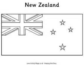 Show Biz Gossip Alberta British Columbia Manitoba New Zealand Flag Coloring Page
