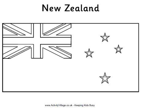 new zealand flag coloring page sonlight core f